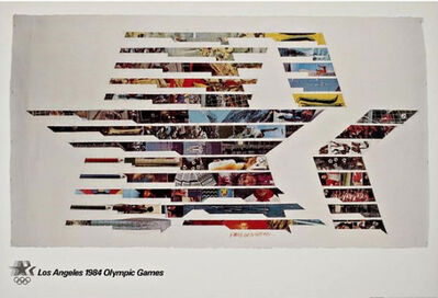 Robert Rauschenberg, 'Los Angeles 1984 Olympic Games  1982', 1982
