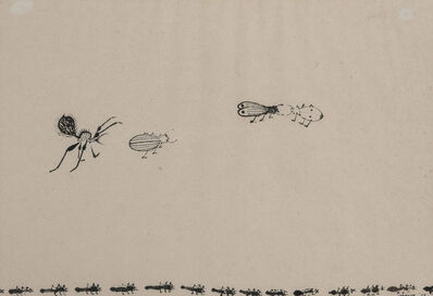 Morris Graves, 'Insects', 1957