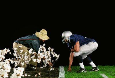 Hank Willis Thomas, 'The Cotton Bowl', 2011
