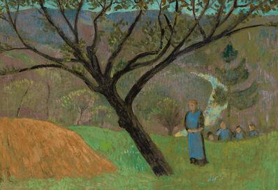 Paul Sérusier, 'Paysage au Bois d'Amour', ca. 1895