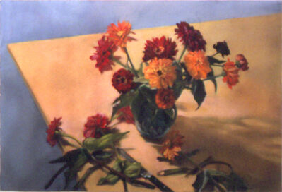 Mary Joan Waid, 'Zinnias', 1996