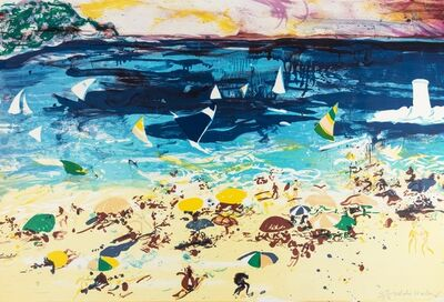 Malcolm Morley, 'Beach Scene', 1982
