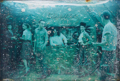 Andreas Franke, 'Rendezvous with Ester (The Sinking World–Vandenberg Project)', 2011
