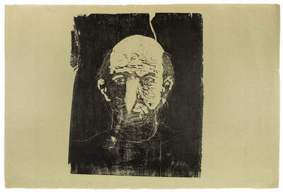 Jim Dine, 'Woodcut Self Portrait (unique)', 1974
