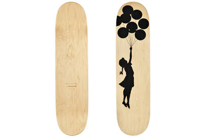Banksy, 'Balloon Girl skateboard deck', 2017