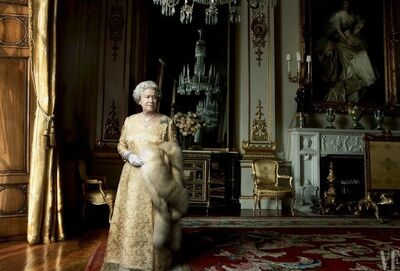 Annie Leibovitz, 'Queen Elizabeth II, Buckingham Palace, London', 2007