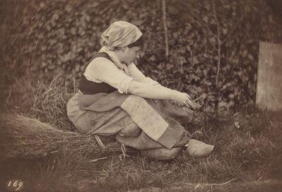 Auguste Giraudon's Artist, 'Peasant', ca. 1870