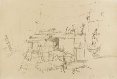 Alberto Giacometti, 'L'Atelier aux Bouteilles (L.100)', 1957