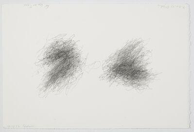 William Anastasi, 'Without title (Walking Drawing, 9.30.12 St. John's)', 2012