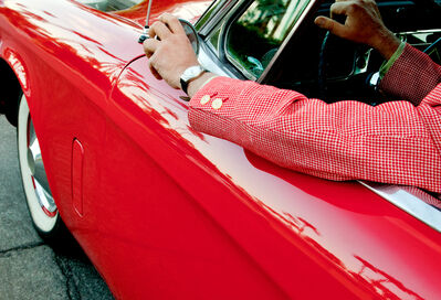 Nancy Baron, 'Bob's Red Car', 2011