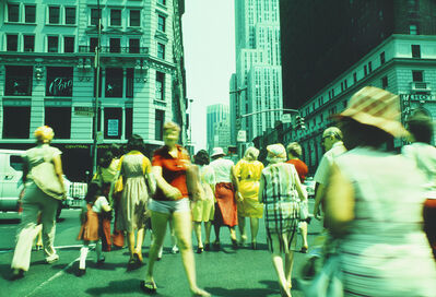 Mitchell Funk, '34th Street in Infrared 2', 1976