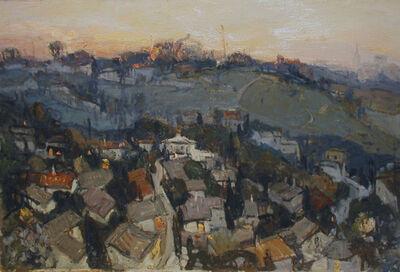 Igor Shipilin, 'Evening View of Green Hills', 2000