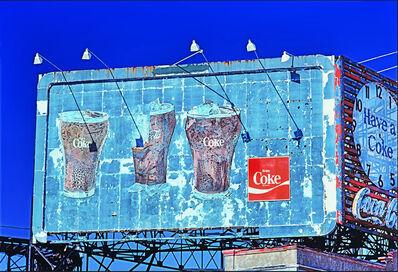 Mitchell Funk, 'Coca Cola Coke sign at Coney Island', 1977