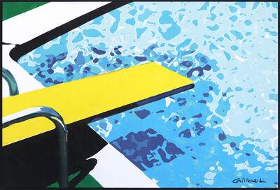 Michael Giliberti, 'Deep End Dive Yellow', 2020