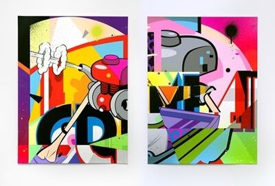 POSE, 'SHIPWRECK, Diptych (Set of 2)', 2019