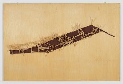 Tadashi Kawamata, 'SITE PLAN 25', 1991