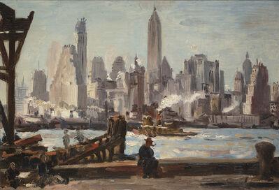 Reginald Marsh, 'The Waterfront, New York ', Date unknown.