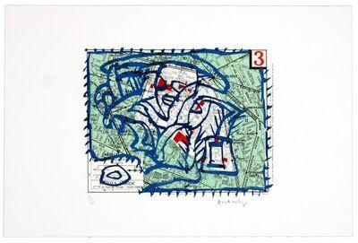 Pierre Alechinsky, 'Troisième arrondissement (Paris)', 1983