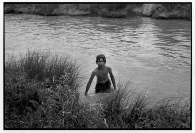 Danny Lyon, 'Andrew Sanchez, Main Canal, Bernalillo', 1970