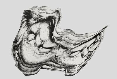 Jim Shaw, 'Trump Smear #1', 2018
