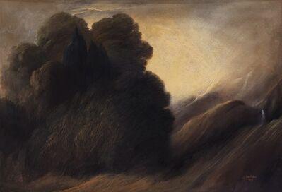Ubaldo Bartolini, 'Paesaggio boschivo', 1988