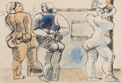 Le Corbusier, 'Trois Femmes Debout', 1933