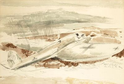 Paul Nash, 'Raider on the Moors', 1940