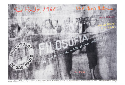 Marcelo Brodsky, 'From the series 1968: The fire of Ideas, USP, SP, 1968', 2014-2019