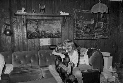 Sage Sohier, 'Woman Kissing Rottweiler, Brockton, Massachusetts', 1992