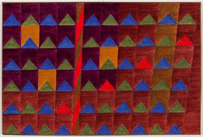 Alfredo Volpi, 'Untitled (Bandeirinhas com mastro)', Late 1970`s