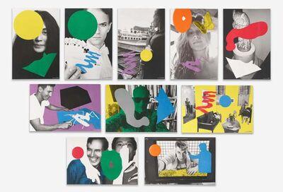 John Baldessari, 'Visionaire 64 Art Portfolio (Green)', 2014