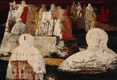 Salvatore Fiume, 'Isola con statue'