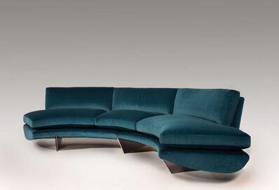 """Georgis & Mirgorodsky, '""""Whalebone"""" Curved Sofa', 2014"""
