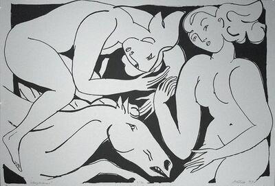 Rudy Autio, 'Steeplechase', 1997
