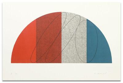 Robert Mangold (b.1937), 'Semi-Circle II', 1995