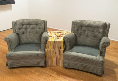 Rodney McMillian, 'Chairs and Books', 2004