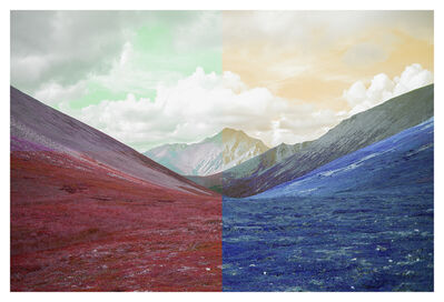 Sarah Anne Johnson, 'Mountain Range', 2016