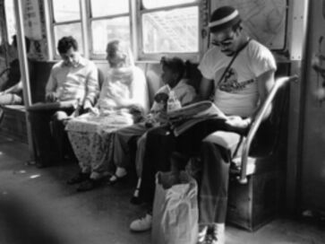 Glenn Goldstein, 'Subway Scene', 1986
