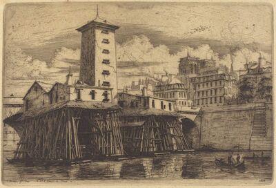 Charles Meryon, 'La Pompe Notre-Dame, Paris (The Notre-Dame Pump)', 1852