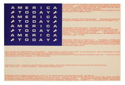 George Maciunas, 'America Today', 1966