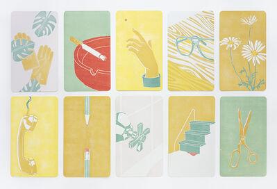 Langdon Graves, 'Home Circle (Month's Mind)', 2020