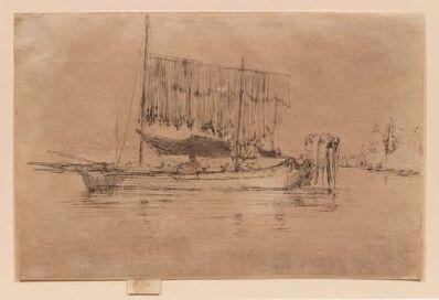 James Abbott McNeill Whistler, 'The Fishing Boat,1879-1880'