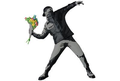Banksy, 'Flower Thrower (Wall Version)', 2017