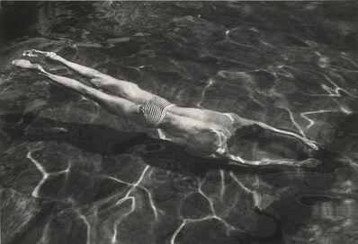 André Kertész, '[Underwater Swimmer]', negative 1917; print 1970s