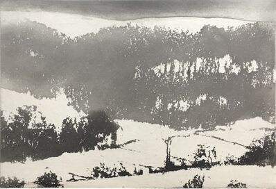 Norman Ackroyd, 'Under Hambleton', 2019