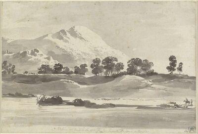 Jean-Jacques de Boissieu, 'Mount Cairo from across the Melfa River', ca. 1765/1766