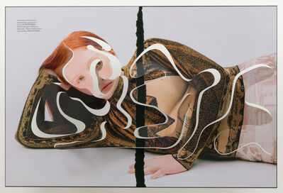 Amie Dicke, 'ONE-LINER V (Separation Redhead)', 2019