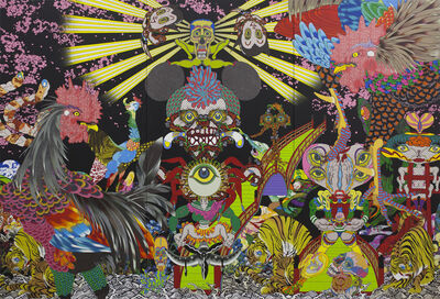 Keiichi Tanaami, 'Vision in the Womb', 2015