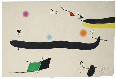 Joan Miró, 'Le Marteau sans maître: one plate (Dupin 945)', 1976