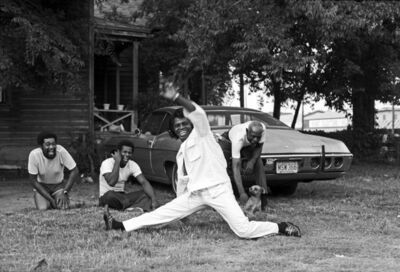 Harry Benson, 'James Brown Doing The Split', 1979